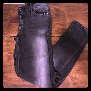 Lucky Brand black skinny jeans, 10/30